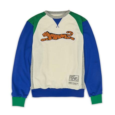 Retro Logo Crew Neck Sweater // Heather (S)
