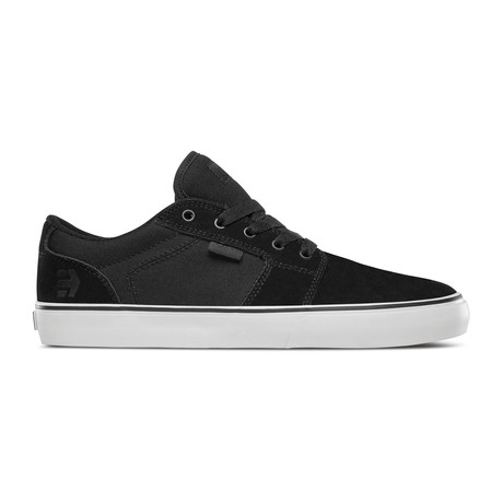 Barge LS Sneaker // Black + White + Black (US: 5)