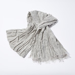 Paisley Print Scarf // Dew