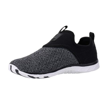 Men's XDrain Nova Water Shoes // Black + Gray (US: 7)