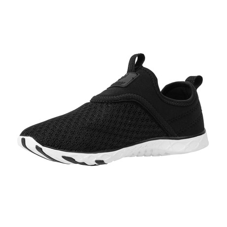 Men's XDrain Nova Water Shoes // Black + White (US: 7)