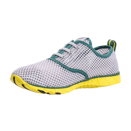 Men's XDrain Classic 1.0 Water Shoes // Green + Yellow (US: 7)