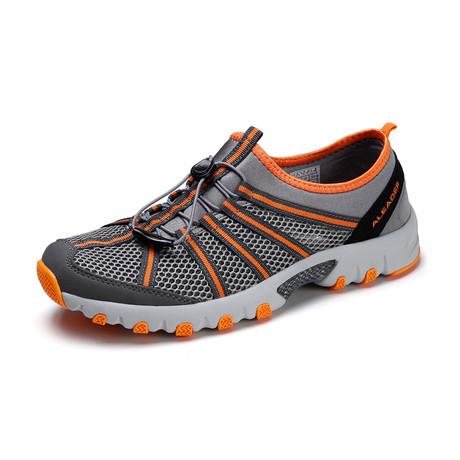 Men's Drainpro Water Shoes // Gray + Orange (US: 7)