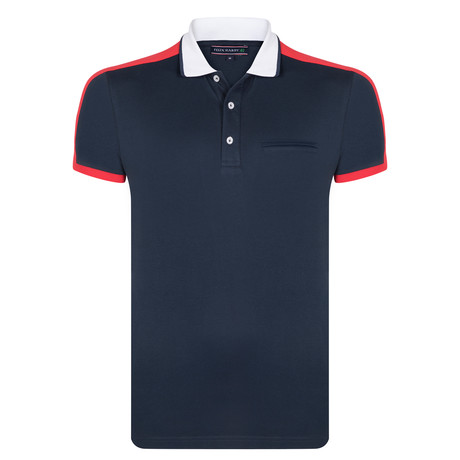 Harley SS Polo Shirt // Navy (S)