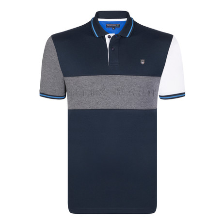 Finn SS Polo Shirt // Navy (S)