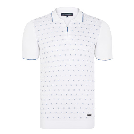 Churchill SS Polo Shirt // Ecru (XS)