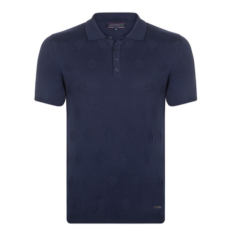 Jamie SS Polo Shirt // Navy (XS)