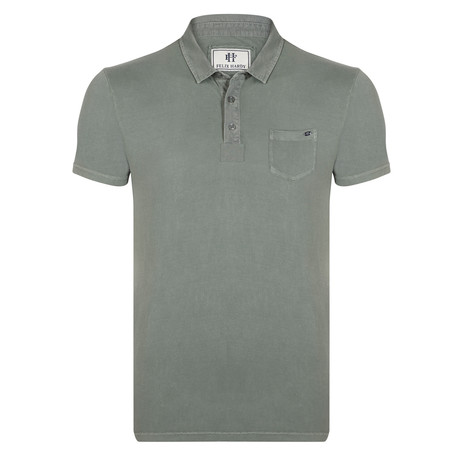 Ewan SS Polo Shirt // Green (XS)