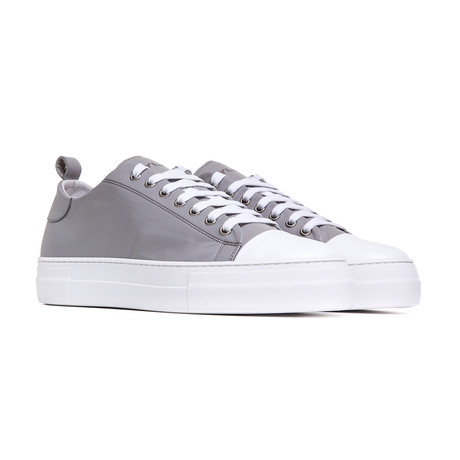 Sorrento Low Leather Shoes // Gray (Euro: 43)