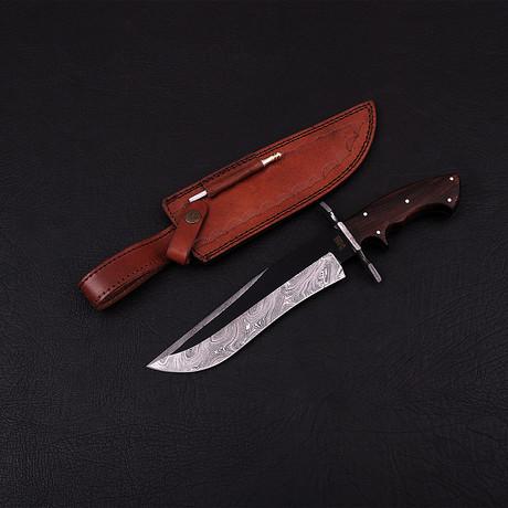 Damascus Bowie Knife // BK0300