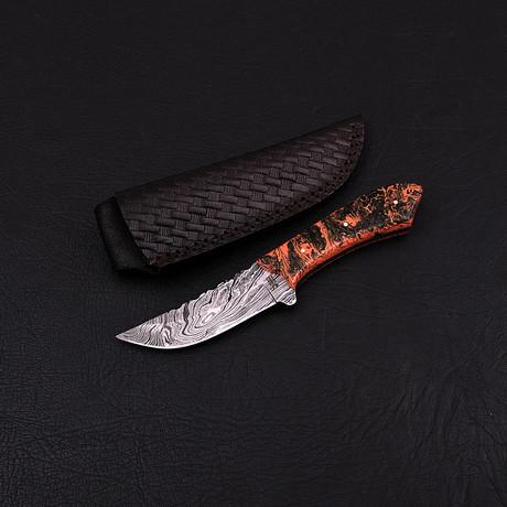 Damascus Skinner Knife // HK0214