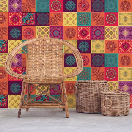 Colorful Mandala Tiles