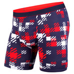 Classic Boxer Brief // Team Plaid Navy + Red (M)