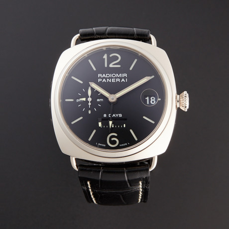 Panerai Radiomir 8 Days GMT Manual Wind // PAM 200 // Pre-Owned