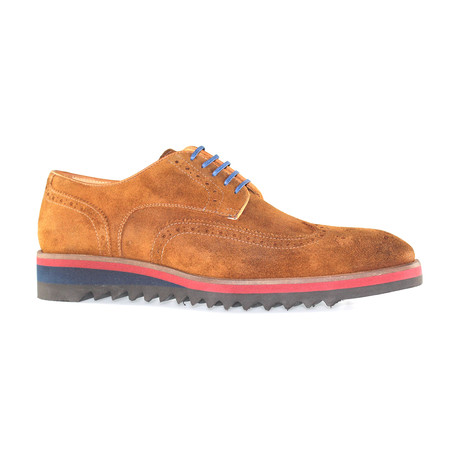 Amberes Sport Wingtip // Whisky Suede (Euro: 40)