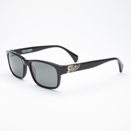 Unisex Buzzsaw Sunglasses // Black