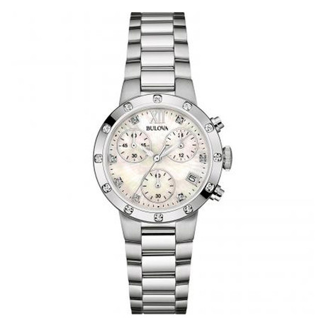 Bulova Ladies Chronograph Quartz // 96R202