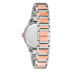 Bulova Ladies Turn Style Quartz // 98L246