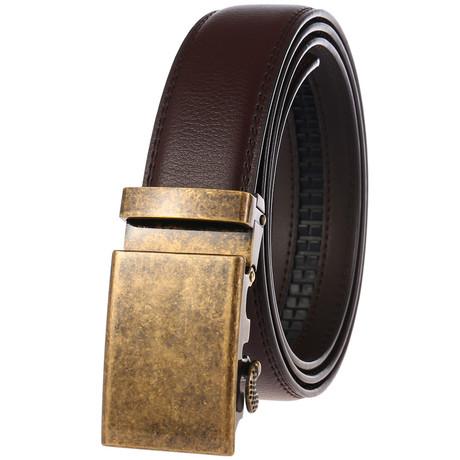 Argenta Belt // Brown