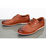 Zealand Derby Sneakers // Cognac Vintage (Euro: 41)