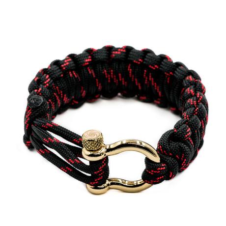 Bracelet // Venom + Gold Hardware (S)