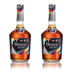 Hennessy VS Cognac 750ml - Limited Artist Edition // Set of 2