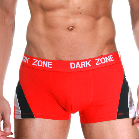 Side-Lined Boxers // Red (S)