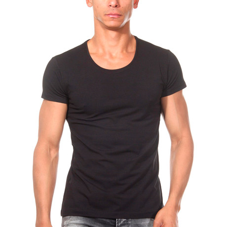 Basic T-Shirt // Black (S)