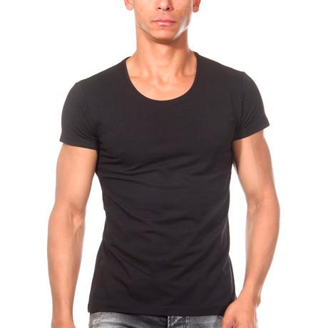Basic T-Shirt // Black (S)