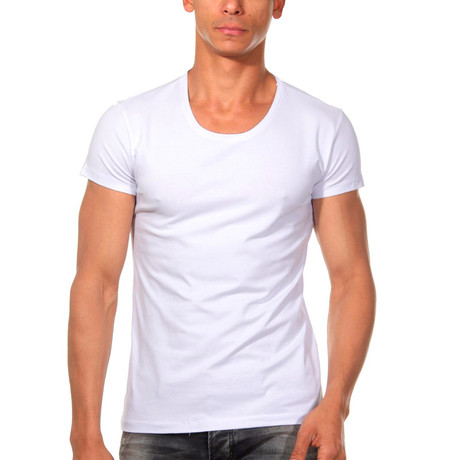 Basic T-Shirt // White (L)