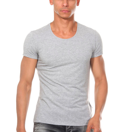 Basic T-shirt // Gray (S)