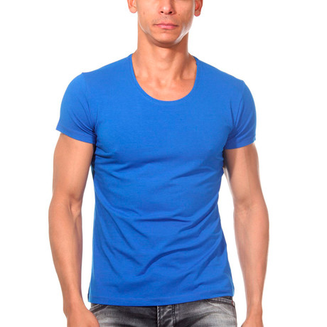Basic T-Shirt // Blue (S)