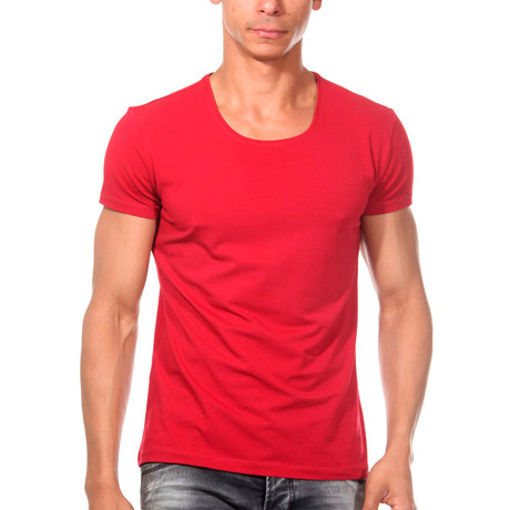 Basic T-Shirt // Red (S)