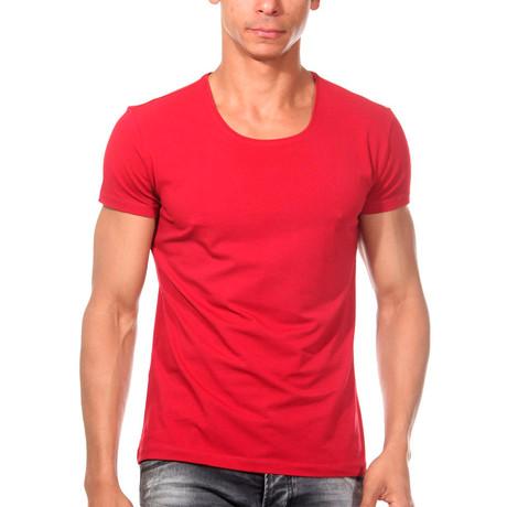 Basic T-Shirt // Red (S)