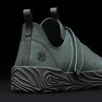 Low Top Velcro Sneaker // Swamp (US: 4.5)