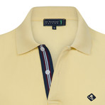 Compliment Short Sleeve Polo // Soft Yellow (XS)