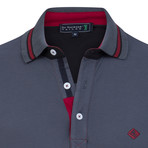 Ground Short Sleeve Polo // Anthracite (M)