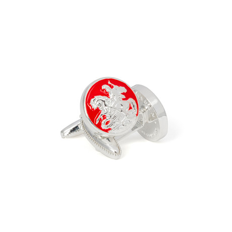 St George and the Dragon Cufflinks