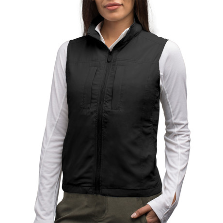 Featherweight Vest // Women // Black (2XL)