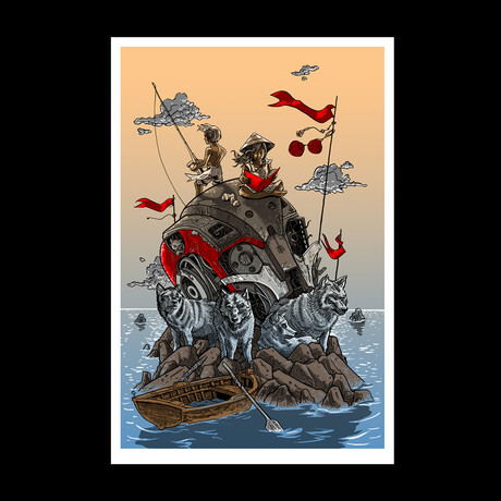 The Wolves of Mekhead Island