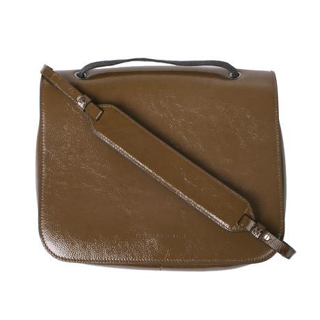 Handbag + Strap // Olive + Brown