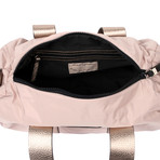 Barrel Handbag // Pink