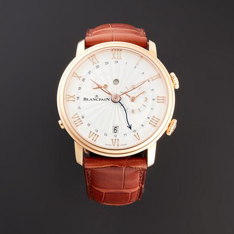 Blancpain Villeret Reveil GMT Automatic // 6640-3642-55B // Unworn