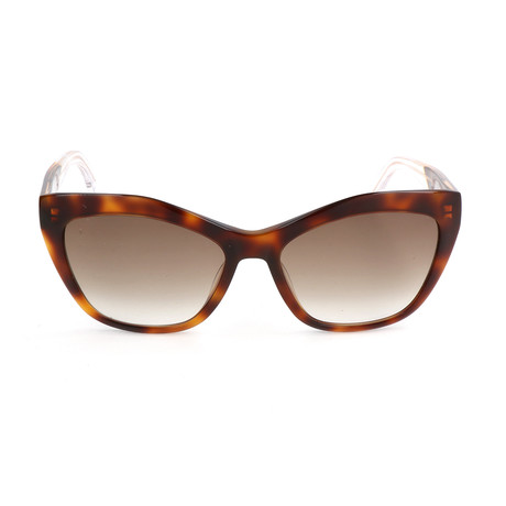 Women's BA0047 Sunglasses // Blonde Havana