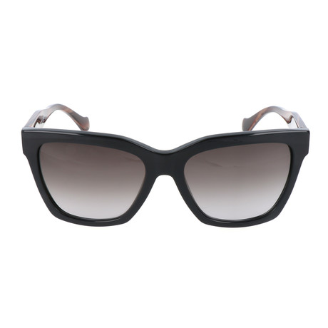 Women's BA0098 Sunglasses // Shiny Black