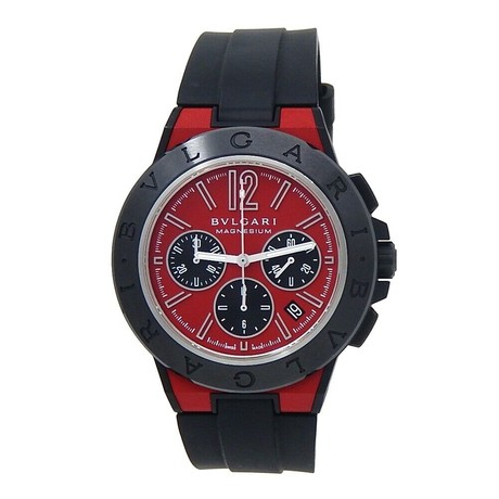 Bulgari Diagono Chronograph Automatic // 102308 DG42C9SMCVDCH // Pre-Owned