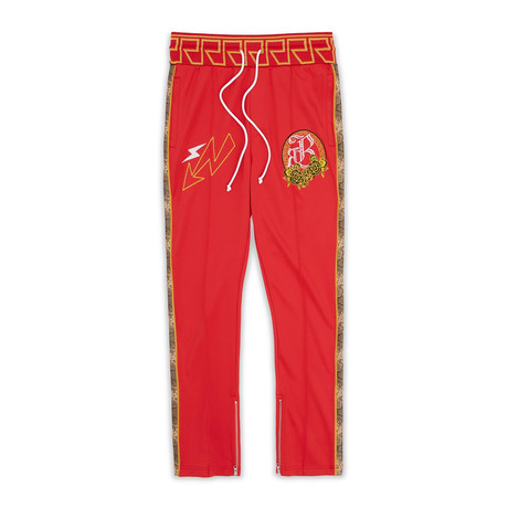 Apollo Track Pants // Red (S)