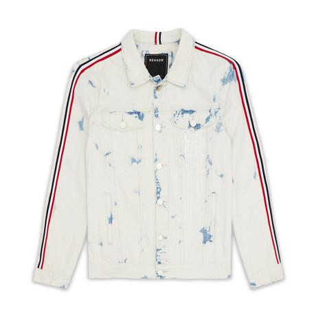 Franklin Denim Jacket // White (XS)