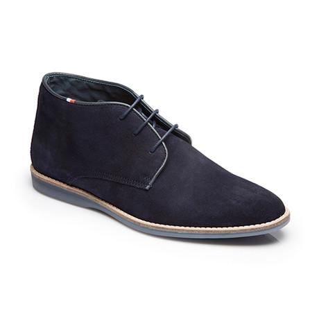 Scada Suede Boot // Blue (Euro: 39)