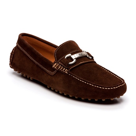 Solac Suede Moccasin // Brown (Euro: 39)